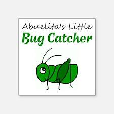 "bug catcher Square Sticker 3"" x 3"""