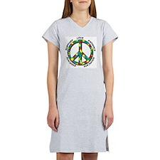 peace copy Women's Nightshirt