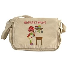 abuelitas helper cooking Messenger Bag