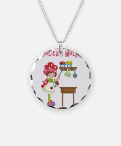 abuelitas helper cooking Necklace