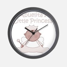 abuelitas little princess Wall Clock