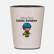 little soldier boy Shot Glass