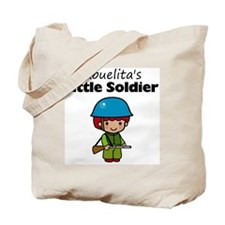 little soldier boy Tote Bag