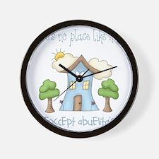 no place like grandmas Wall Clock
