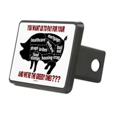 16x20 You Want Us to Pay Hitch Cover