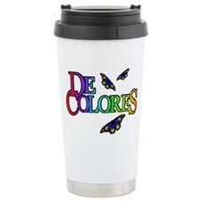 DeColores Travel Mug