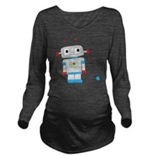 cuterobot Long Sleeve Maternity T-Shirt