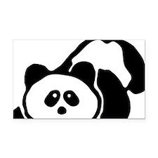 pandabear Rectangle Car Magnet