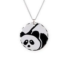 pandabear Necklace Circle Charm