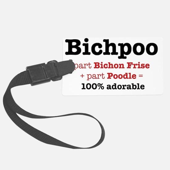bichpoo Luggage Tag