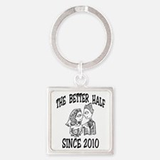 2-Better Year 2 10 Square Keychain