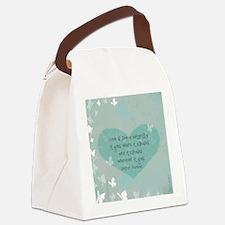 keepsake box Canvas Lunch Bag
