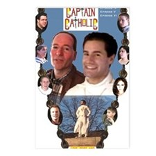 3-CAPTAIN CATHOLIC - EPIS Postcards (Package of 8)