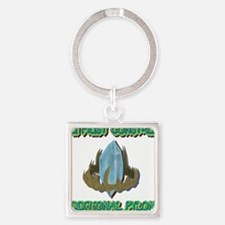 ADDITIONAL PYLONS Square Keychain