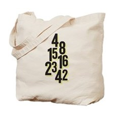 The Numbers 4, 8, 15, 16, 23, 42 LostTV Tote Bag