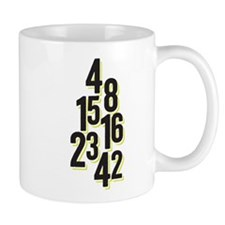 The Numbers 4, 8, 15, 16, 23, 42 LostTV Mugs