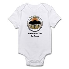 Jewish New Year for Trees Infant Bodysuit