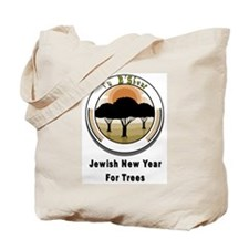 Jewish New Year for Trees Tote Bag