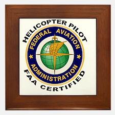 FAA_Logo_Color_HELO-patch Framed Tile
