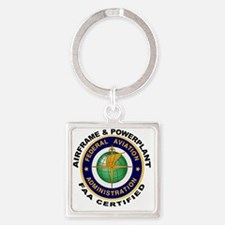FAA_Logo_Color_AnP-patch Square Keychain