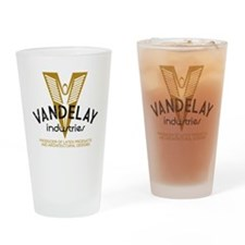 VandelayIdFaded Drinking Glass