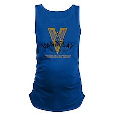 VandelayIdFaded Maternity Tank Top