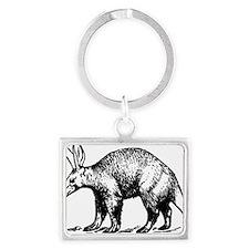 aardvark Landscape Keychain
