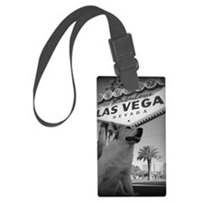 MaggieLVSignVWide Luggage Tag