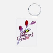 island gyal twig jamaica Keychains