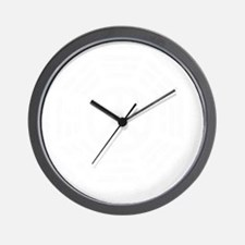 Dharma Peace -dk Wall Clock