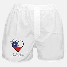 CORAZON BLACK Boxer Shorts