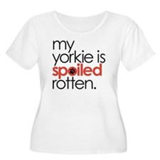 my yorkie is  T-Shirt