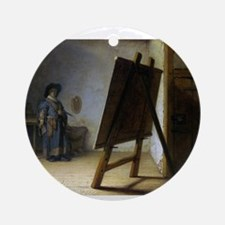 rembrant9.png Ornament (Round)