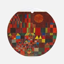 paul klee Ornament (Round)