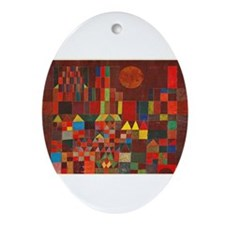 paul klee Ornament (Oval)