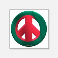 "Bangladesh Square Sticker 3"" x 3"""