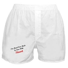 In Love with Stuart Boxer Shorts