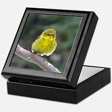 Fat Yellow Finch Keepsake Box