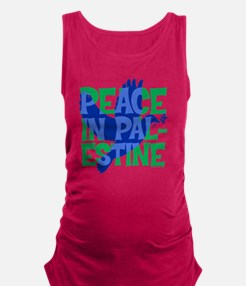 peace-in-palestine-t-shirt Maternity Tank Top