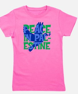 peace-in-palestine-t-shirt Girl's Tee