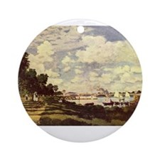 monet masterpiece Ornament (Round)