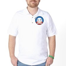 frustrated_O_face_cp_btn T-Shirt