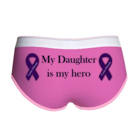 daughterHeroPurpleRibbon-03 Women's Boy Brief