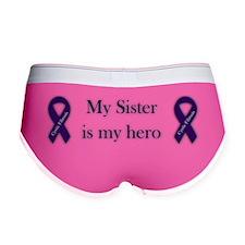 sisterHeroPurpleRibbon-03 Women's Boy Brief