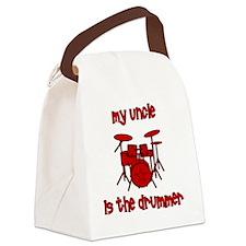 drums_myuncleisthedrummer Canvas Lunch Bag