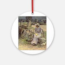 theodore robinson Ornament (Round)