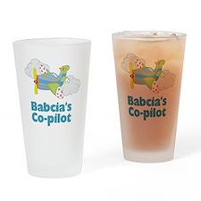 babacias copilot Drinking Glass