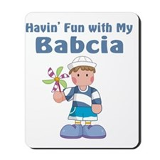 fun with babcia Mousepad