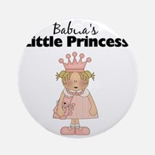 little princess 2 Round Ornament