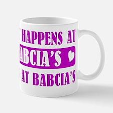 what happens at babcias Mug